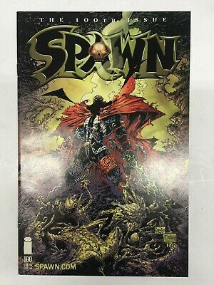 Spawn #100 (2000) Death of Angela Greg Capullo Variant Cover Image Comics VF/NM