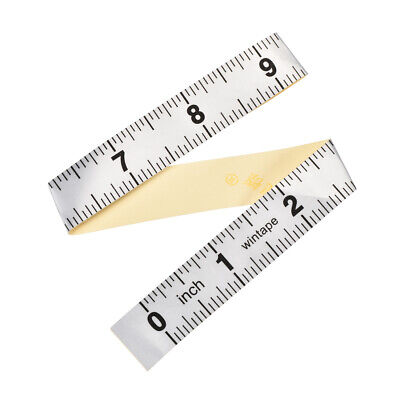 Adhesive Backed Tape Measure 12 Inch Measuring Tool for Tailor Sewing