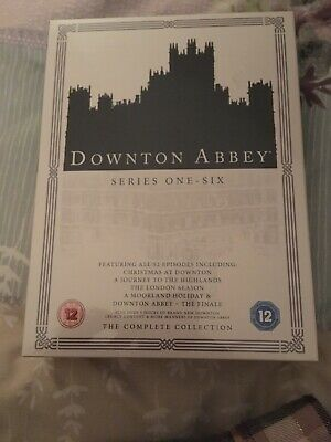 Downton Abbey Series 1 to 6 Complete Collection New