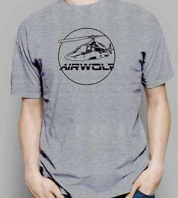 Airwolf TV Show PATCH Licensed Adult T-Shirt All Sizes
