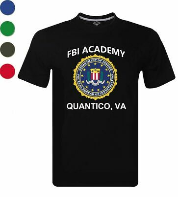 Fbi Academy Quantico Va Police United States Department Of Justice Shirt