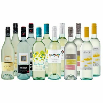 Simply Sweet White Wine Mix Dozen Brown Brothers Moscato 12x750ml Free Delivery