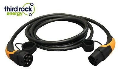 EV Charging Cable 3 Phase Type 2 to Type 2, 32A, 22KW, 480V, 5M, 2 Yr Warranty