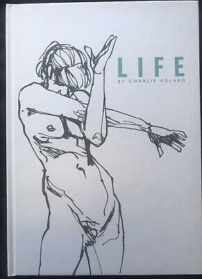 LIFE B&W Hardcover By Charlie Adlard Signed