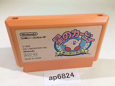 ap6824 Kirby Kirby's Adventure NES Famicom Japan