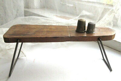 Small Antique Primitive IRONING BOARD For Doll Handmade Great Iron Display Item!