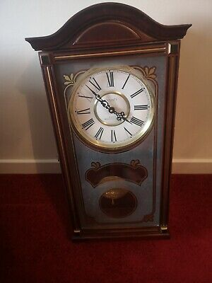 Large Wall Clock County Quartz Westminster Chime