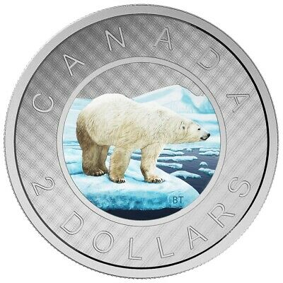 Big Coin Series: $2 - 2016 Canada 5 oz. Fine Silver Coin