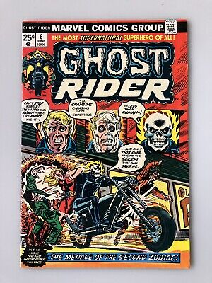 GHOST RIDER #6 Volume 1 (1974) John Romita Cover Marvel Comics JIM MOONEY