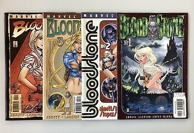 BLOODSTONE #1-4 1st Appearance of ELSA BLOODSTONE Marvel FULL SET