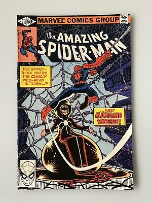 AMAZING SPIDER-MAN #210 1st Appearance of MADAME WEB Hot Key Book