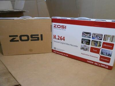 Zosi - Network Digital Security Kit - 4 Pack Camera's & Digital Video Recorder ~
