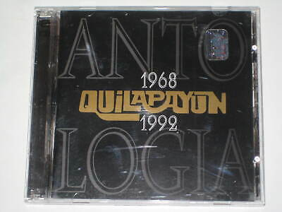 Quilapayun-Antologia 1968-1992 Rare 2 X Cd Double-Disc 1998 Warner Music Chile