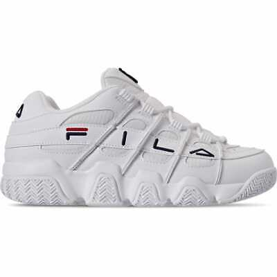 MEN'S FILA UPROOT Basketball Shoes WhiteNavyRed 1BM00624