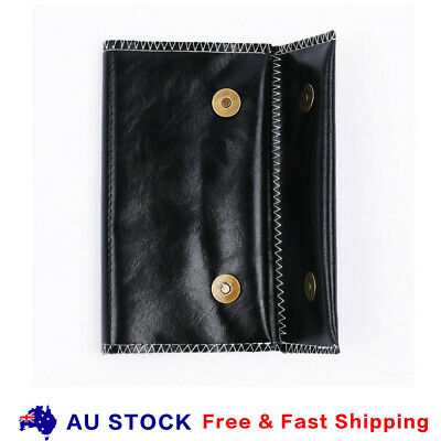 Cigarette Tobacco Pouch Bag Holder Rolling Paper Wallet Filter Gift Leather Case