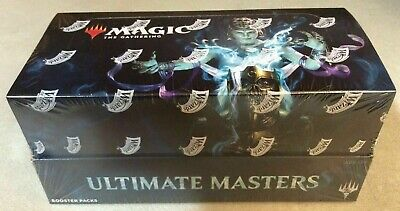 Magic Mtg Ultimate Masters Booster Box Factory Sealed English **With Topper**