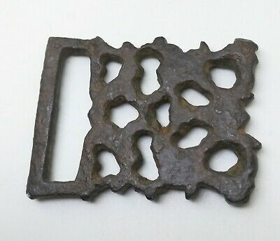 Crusader Gild Belt End Openwork 11-13th Century AD
