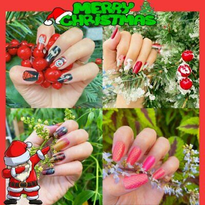 3D Nail Art Transfer Stickers Flower Decals Christmas Manicure Decoration Tips