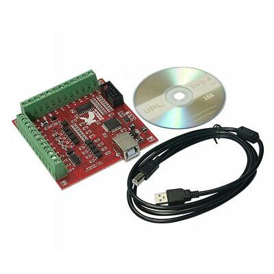 MACH3 4 Axis 100KHz USB CNC Smooth Stepper Motion Controller Card Breakout Board