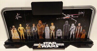 STAR WARS 6 Inch LEGACY DISPLAY STAND 40th Anniversary Black Series Hasbro