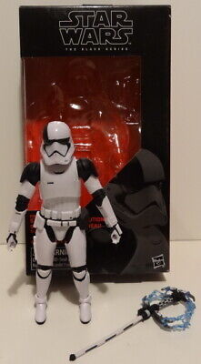 STAR WARS 6 Inch STORMTROOPER EXECUTIONER FIRST ORDER Black Series Hasbro