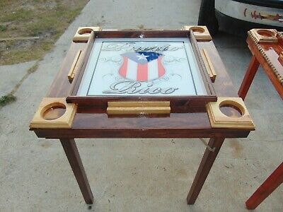 Handcrafted Puerto Rican Domino Table 180 00 Picclick