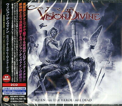Vision Divine-When All The Heroes Are Dead-Japan 2 Cd Bonus Track I71