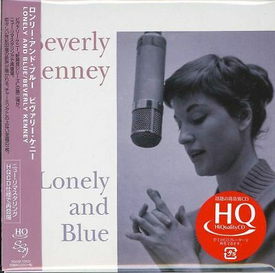 Beverly Kenney-Lonely And Blue-Japan Mini Lp Hqcd E78