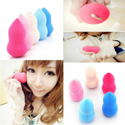 5pcs Makeup Foundation Sponge Blender Puff Flawless Powder Smooth Beauty gourd Z