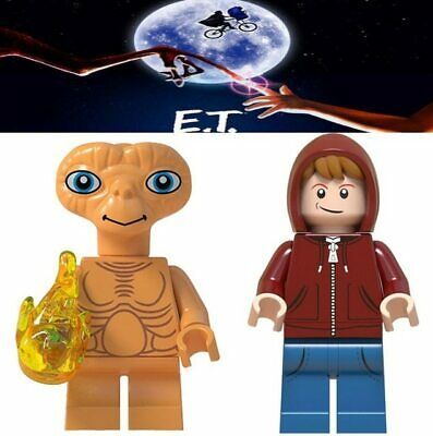 Mini Figurines E.t L'extra-Terrestre Elliot Mini Figures Blocks Compatible Lego