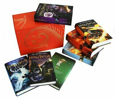 Harry Potter Box Set: The Complete Collection Children's Hardback 9781408856789