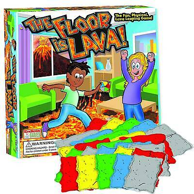 The Floor is Lava! Interactive Board Game for Kids  Adults (Ages 5+) Funny Toys