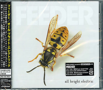 Feeder-All Bright Electric-Japan Cd F56
