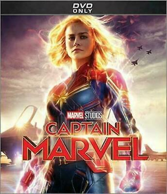 Captain Marvel (DVD, 2019) New & Sealed Free Shipping Included