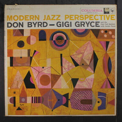 DONALD BYRD & GIGI GRYCE: Modern Jazz Perspective LP (Mono, WLP 6-eye label, sm