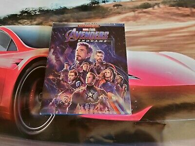 Avengers: Endgame (Blu-ray, 2019) New & Sealed