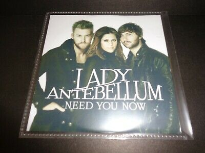 NEED YOU NOW by LADY ANTEBELLUM-Radio Edit-Rare Collectible Promotional Single