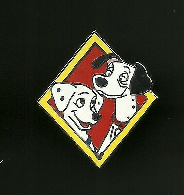 101 Dalmations Pongo and Perdy Splendid Disney Pin