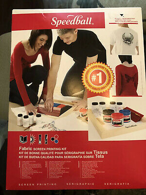 SPEEDBALL ART PRODUCTS 45059 ULTIMATE DIAZO FABRIC SCREEN PRINTING KIT