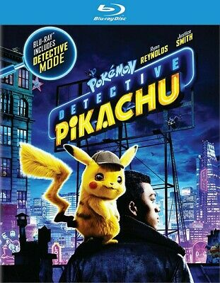Pokemon: Detective Pikachu (Blu-ray Disc, 2019)