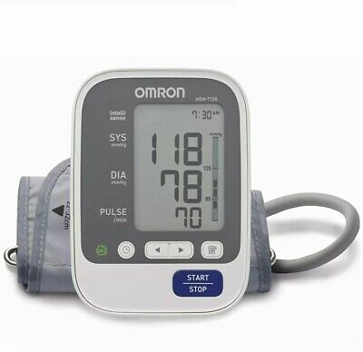 Omron Hem 7130 Deluxe   5 Years Au Warranty Upper-Arm Blood Pressure Monitor