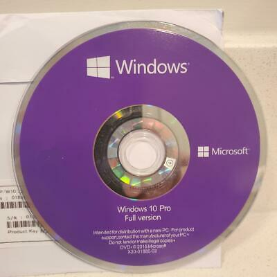 Windows 10 Pro 64 Bit OEM Dvd Rom Version Win 10 Professional 64Bit Software/HHD