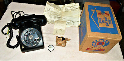 Vintage Western Electric-Bell System 2 - Line Rotary Dial Telephone - New