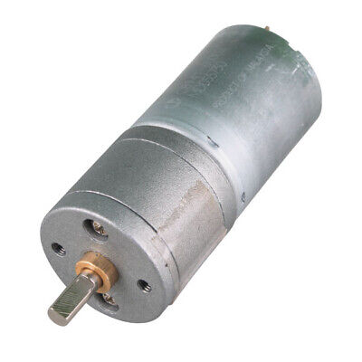 Professional 12V DC 120 RPM High Torque Gear Box Electric Motor New US STOCK