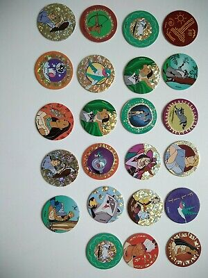 Lot 23 pogs Pocahontas Disney Avimage World pog federation collection mcdo 1995