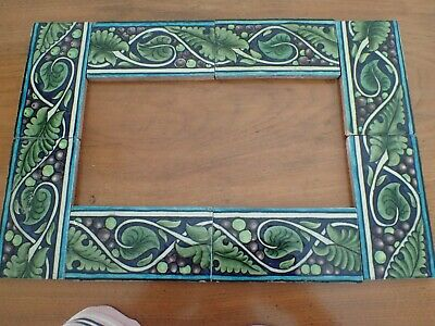 william de morgan border tiles