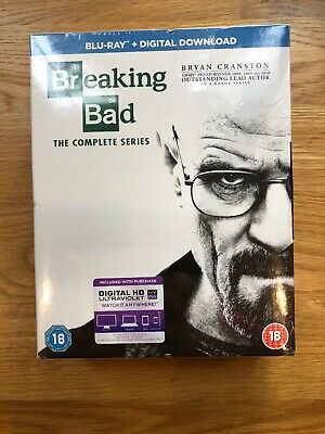 Breaking Bad The Complete Series Blu-Ray Box Set