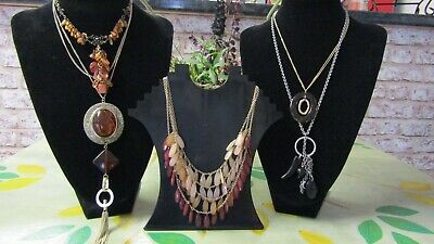 Job Lot Lovely Mixed Art Deco,Art Nouveau Faux Amber Vintage Jewellery № 30