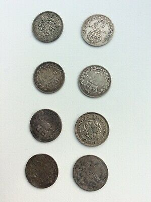 Collection job lot pre-1900 silver threepence 3d coins