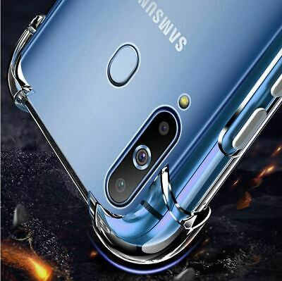 CLEAR Case For Samsung Galaxy A20e A70 A50 A40 A10 Cover Shockproof Silicone Gel